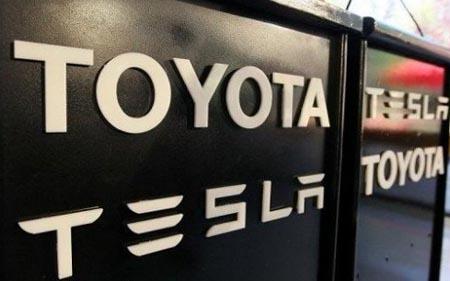 Тойота Тесла соотрудничество