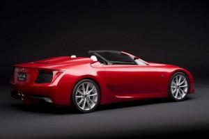 Лексус представил новый суперкар Lexus-LFA-Roadster