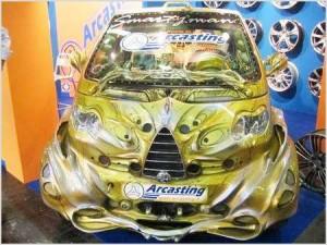 Автомобиль-зомби, автомобиль-шар и другие необычные автомобили