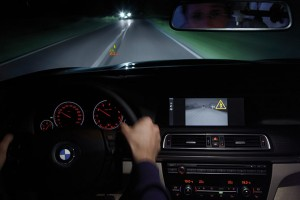 Достижения мировых автогигантов, системы ночного видения