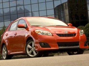 Дизайн Toyota Matrix современен и не похож ни на один другой
