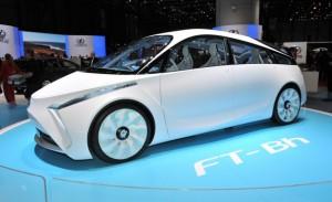 Toyota FT-Bh - это новинка женевского автосалона