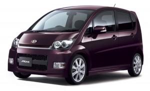 Японский крошка-авто daihatsu move