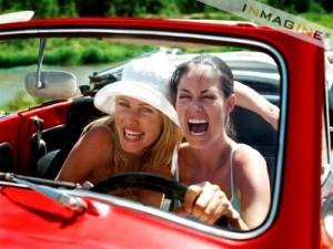 боязнь попасть в аварию, стрессы и ГИБДД- вот то, чего так боятся женщины на дороге