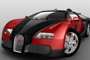 Bugatti Veyron относится к числу самые быстрые автомобили в  мире