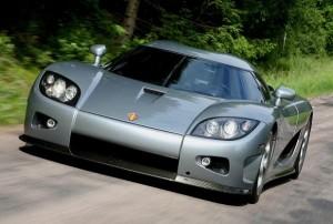 Koenigsegg CCX находится на третьем месте рейтинга самые быстрые автомобили