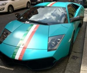 Машина Балотелли- яркий пример, раскрывающий его патриотизм