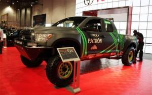 Toyota Tundra Pre-Runner  в Лас-Вегасе произвел фурор