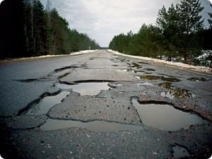 Российские дороги признаны одними из самых худших в мире
