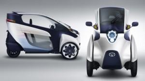i-Road -мобиль - новый городской двухместный автомобиль для европейцев от Тойоты