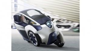 В Женеве представили новый городской i-Road -мобиль Тойота
