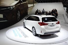 Комплектация Toyota Auris Touring Sports для Великобритании