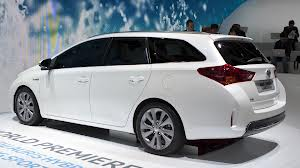 Комплектация Toyota Auris Touring Sports для Англии