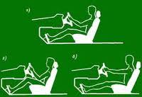 как правильно садиться в водительское кресло: основы посадки