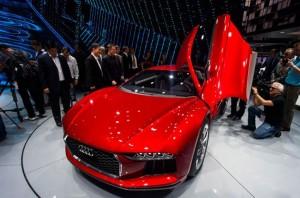 Audi привез новый концепт во Франкфурт